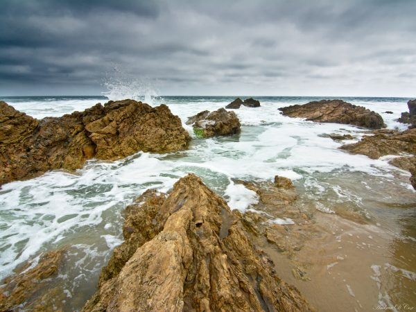 high tide crystal cove beach