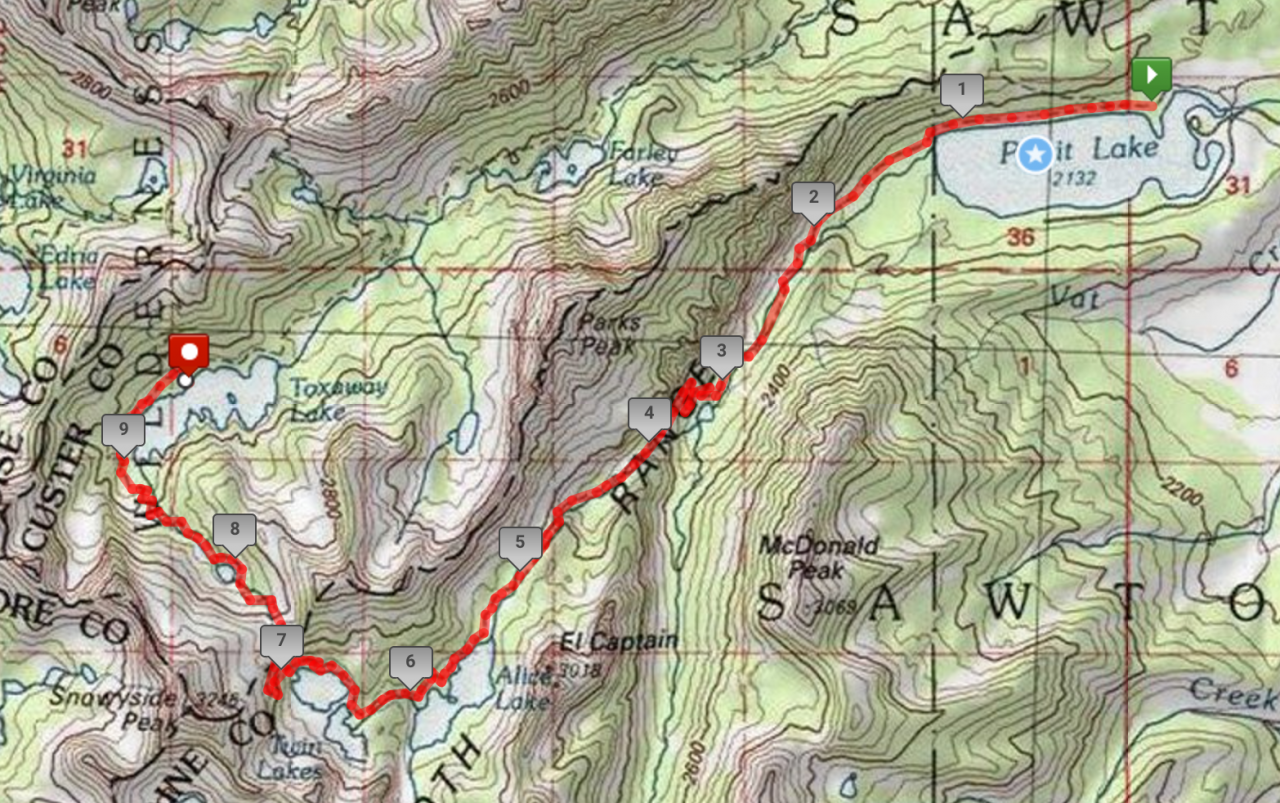 A Second Sawtooth Adventure | Backcountry Sights on coconino trail map, river to river trail map, jefferson trail map, idaho atv trail map, moosalamoo trail map, mount washington hiking trail map, red trail map, raven rock trail map, oak forest trail map, water trail map, helena trail map, targhee trail map, mccall trail map, highland trail map, owyhee trail map, wasatch trail map, weiser trail map, payette national forest trail map, phoenix trail map, land between the lakes trail map,