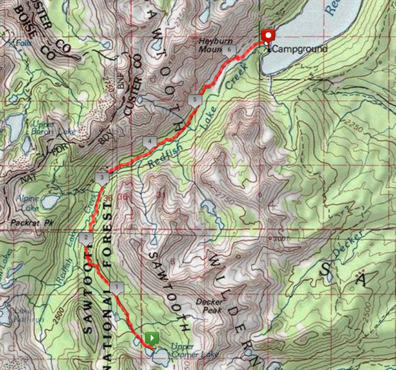 A Second Sawtooth Adventure | Backcountry Sights on mount washington hiking trail map, red trail map, coconino trail map, phoenix trail map, oak forest trail map, river to river trail map, targhee trail map, payette national forest trail map, land between the lakes trail map, owyhee trail map, raven rock trail map, jefferson trail map, moosalamoo trail map, idaho atv trail map, water trail map, wasatch trail map, weiser trail map, helena trail map, mccall trail map, highland trail map,