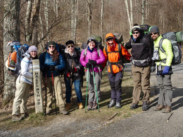 purdue outing club shenandoah national park backpacking spring break