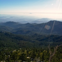 san jacinto mountain view landscape