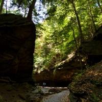 Rocky Hollow in Turkey Run State Park