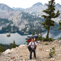 toxaway lake backpacking sawtooth mountain wilderness