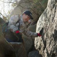 rock scramble old rag shenandoah national park