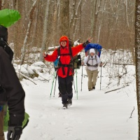 winter backpacking