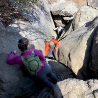shenandoah national park old rag rock scramble
